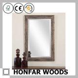 Cadre rustique en miroir en bois pour l'hôtel Royal Suite Guest Room