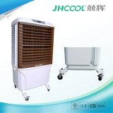 Uso esterno di estate che raffredda soltanto il dispositivo di raffreddamento di aria evaporativo del deserto dell'acqua