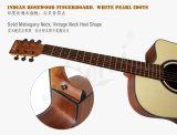 Aiersi 41インチによって薄板にされる小ぎれいな上のマホガニーのアコースティックギターSg01sm