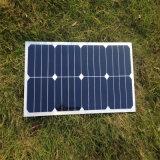 panneau solaire du module 25W solaire mono flexible pour la batterie 12V