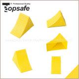 Cuneo di plastica della rotella di colore giallo (S-1523)
