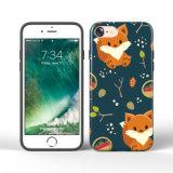 Tampa impressa costume do telefone móvel de TPU para o iPhone 7