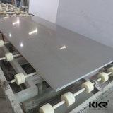 quartz en pierre artificiel de configuration grise blanche de 3cm