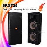 O sistema de som do PA Srx725 Dual altofalantes de 15 polegadas