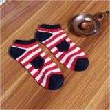 Pocket Streifen-Süßigkeit-Farben-Knöchel-Kleid-Socke