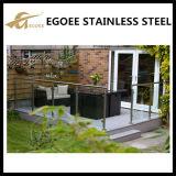Precios al aire libre de la alta calidad del diseño del pasamano del acero inoxidable del balcón