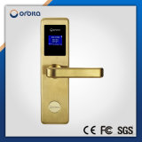 304 a prueba de agua Sistema de Acceso RFID de acero inoxidable lector de tarjetas inteligente sin llave electrónica del hotel bloqueo de la puerta