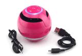 Muziek de van de Spreker van Bluetooth Handsfree en van de aanvang, met Kleurrijk Licht (aj-69)