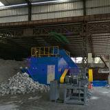 Schrott-Aluminium bricht den Puder-Partikel-horizontalen Block ab, der Maschine herstellt