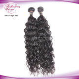 Double Wefts Intraproceded Natural Wave 1b # Couleur Cheveux humains tissage