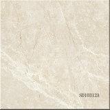 Mattonelle di pavimentazione Polished piene della porcellana della copia di marmo