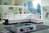 Sofá Home moderno do couro genuíno da mobília (SBL-9048)