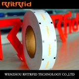 Frecuencia ultraelevada frágil y escritura de la etiqueta de la etiqueta engomada de la Anti-Falsificación RFID
