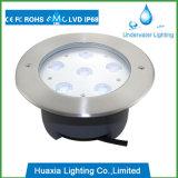 Luz IP67 subterrânea ou luz subaquática do aço 316 inoxidável
