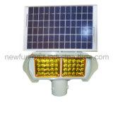 Cuatro Lados Tráfico Solar Luz de advertencia / LED de señal de luz intermitente