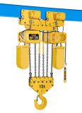 持ち上がる機械は15トンの起重機とのスイッチを緊急事態停止する