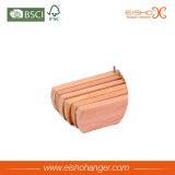 Вешалка кедра деревянная для юбок/брюк