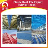 Feuille ondulée en plastique de toiture de PVC