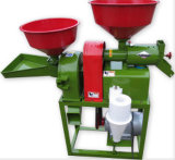 Moinho de arroz combinado da máquina de descascamento da almofada