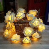 LED Rose Flower Fairy Light cordes pour Party Decoration de mariage