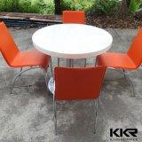 Vectores superficiales sólidos y sillas de los alimentos de preparación rápida de la cafetería