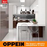 De um estilo moderno em forma de u quadrado de 8 cozinha pequena medidores (OP16-HPL05)