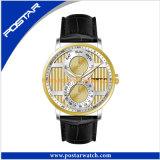 Cassa per orologi resistente dell'acciaio inossidabile dell'acqua della vigilanza 5ATM del quarzo di modo