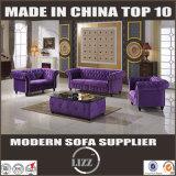 Meubles de salon Ensemble de bois moderne Canapé en tissu souple