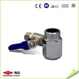 1/2 Zoll-Drehung 3/8 Zoll-Metallkugelventil für RO-PET Rohr