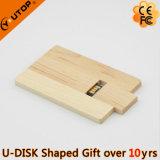 Giro/USB de madeira de giro Pendrive do cartão para o presente (YT-3132)
