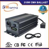 315W Lichte Ballast van het Systeem van de Ballast van CMH de Elektronische Hydroponic voor Hydroponic Groeiende Systemen