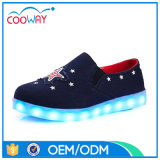 Fashion New Design Women Casual Shoes Women LED Canvas Shoes