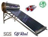 Chaufferette solaire d'eau chaude de basse pression d'acier inoxydable d'Inox