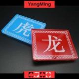 Etiqueta de plástico de acrílico Ym-dB01 del cordón del bacará