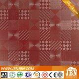 無作法なよじ登る金属艶をかけられたタイルのえんじ色の無光沢の表面の陶磁器の床タイル600X600mm (JL6503)