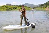 Recreatieve Tribune op het Surfen van de Peddel Kajak met het Kussen van het Schuim