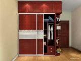 Ultimo doppio guardaroba della melammina di colore della mobilia moderna del salone (UL-WR002)