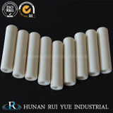Tubo de cerámica del diámetro grande alúmina a prueba de calor industrial de la pureza el 99% del alto