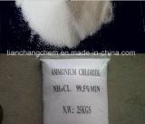 Хлористый аммоний 12125-02-9 удобрения 99.5% цинка