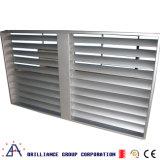 Aluminium Vast Blind en het Vaste Venster van de Luifel