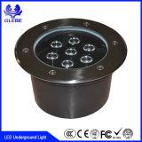 Indicatore luminoso di pavimentazione sotterraneo chiaro sotterraneo del quadrato LED del fornitore IP68 della Cina