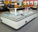 Tipo auto congelador comercial Aht de Aht do console da caixa da geada para a venda