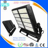 Luz al aire libre impermeable del mástil del puerto LED del aeropuerto 300-1000W de la UL alta
