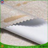 Al igual que la cortina del apagón de poliéster Revestimiento de tela Persiana tela de la cortina P. tela de la cortina