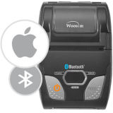 Принтер приведенный в действие USB термально миниый получения Ios 2 дюймов Android Handheld Woosim Wsp-R241