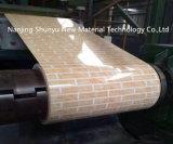 Hoja de acero galvanizada impresión que vetea en la bobina para la decoración y los muebles