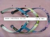 슬리퍼 (TM011)를 위한 V 결박이 형식 작풍 플립 플롭 갑피 PVC에 의하여 견장을 단다