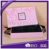 Papel especial de lujo que empaqueta el rectángulo exquisito del perfume para el regalo