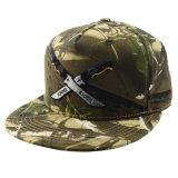 5つのパネルの余暇の帽子の昇進のギフトのカスタムカムフラージュの綿の刺繍の急な回復の帽子