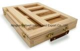 Мольберт таблицы картины эскиза изготовленный на заказ верхней ранга деревянный с ящиком
